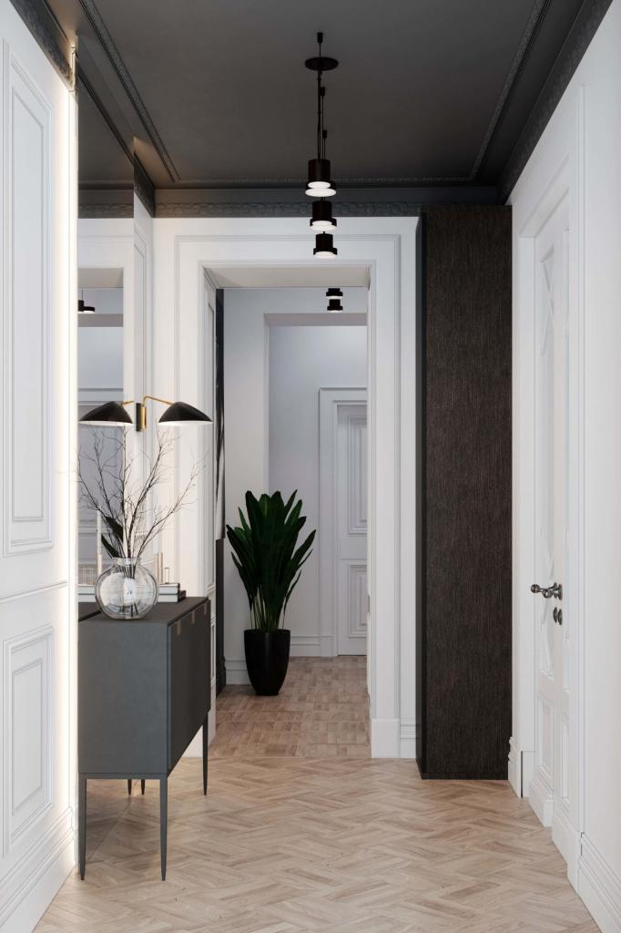 Интерьерный тренд: светлые и воздушные коридоры