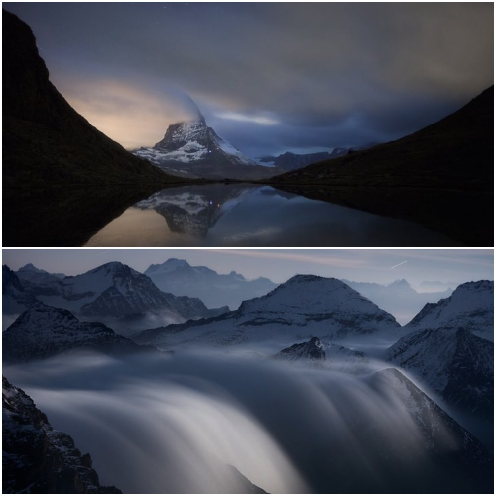 Романтика гор: итальянский фотограф показал красоту ночей в Альпах (фото)