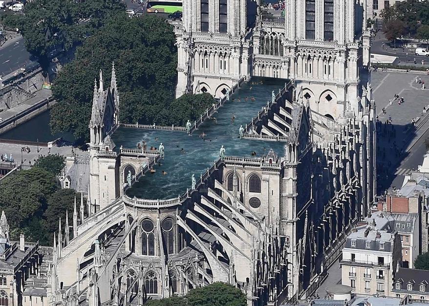 Это просто смешно: 9 самых нелепых проектов реставрации Нотр Дам де Пари