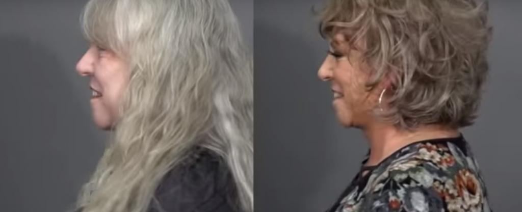 Женщина решилась закрасить седину и резко помолодела