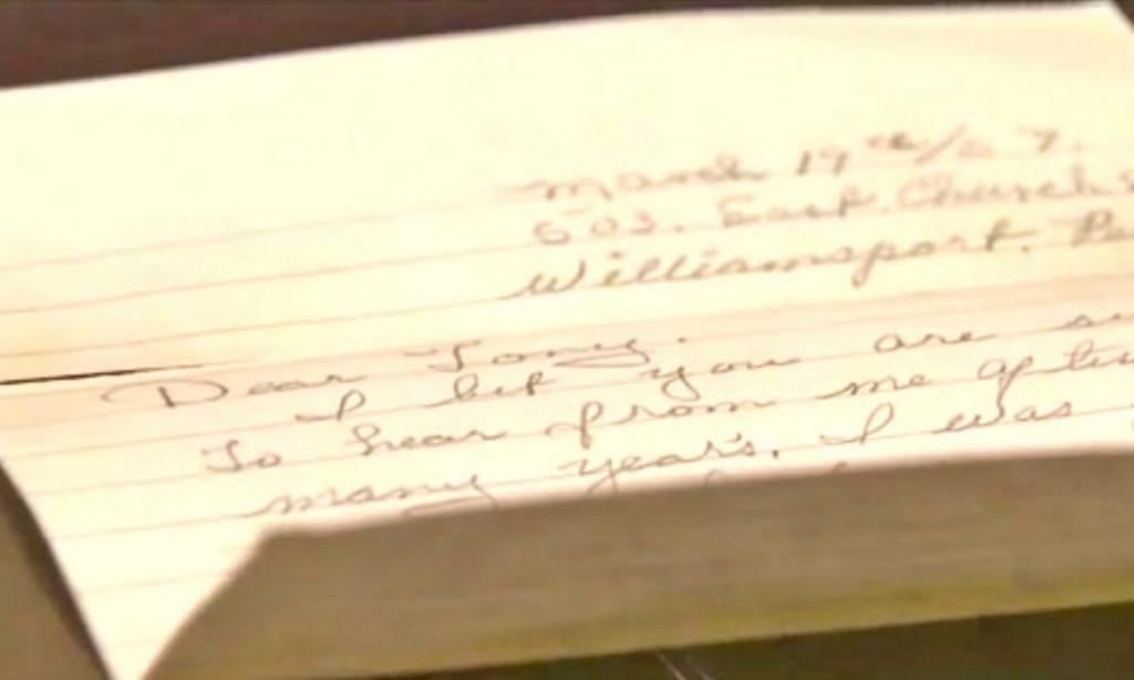 Старик нашел письмо, написанное бывшей возлюбленной почти 60 лет назад. В нем говорилось о сыне