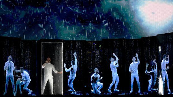 Сергей Лазарев выступил на Евровидении-2019. Видео эффектного номера Росии