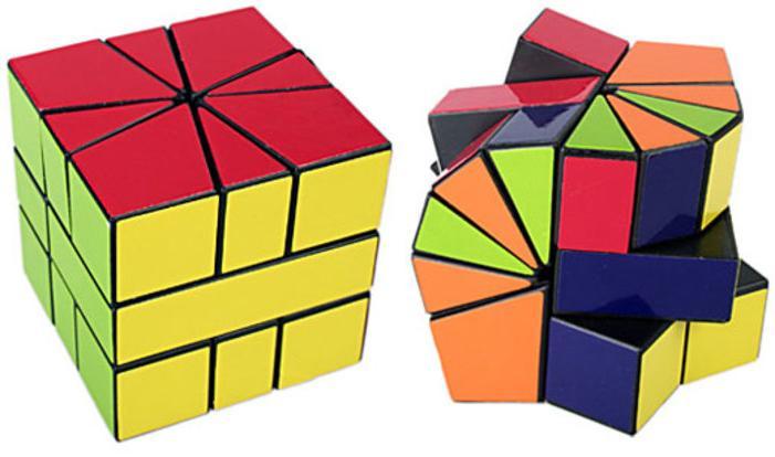 Как развить логику: 10 странных и необычных головоломок по мотивам кубика Рубика
