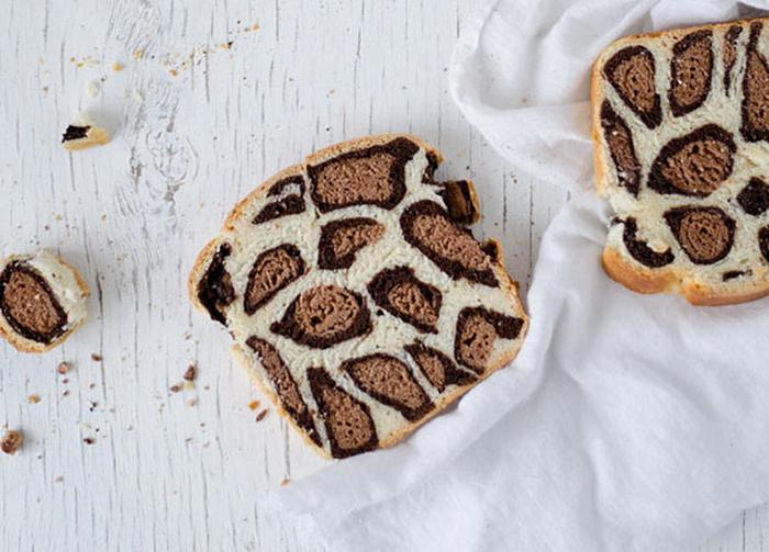 Дико вкусная сдоба: как приготовить леопардовый хлеб