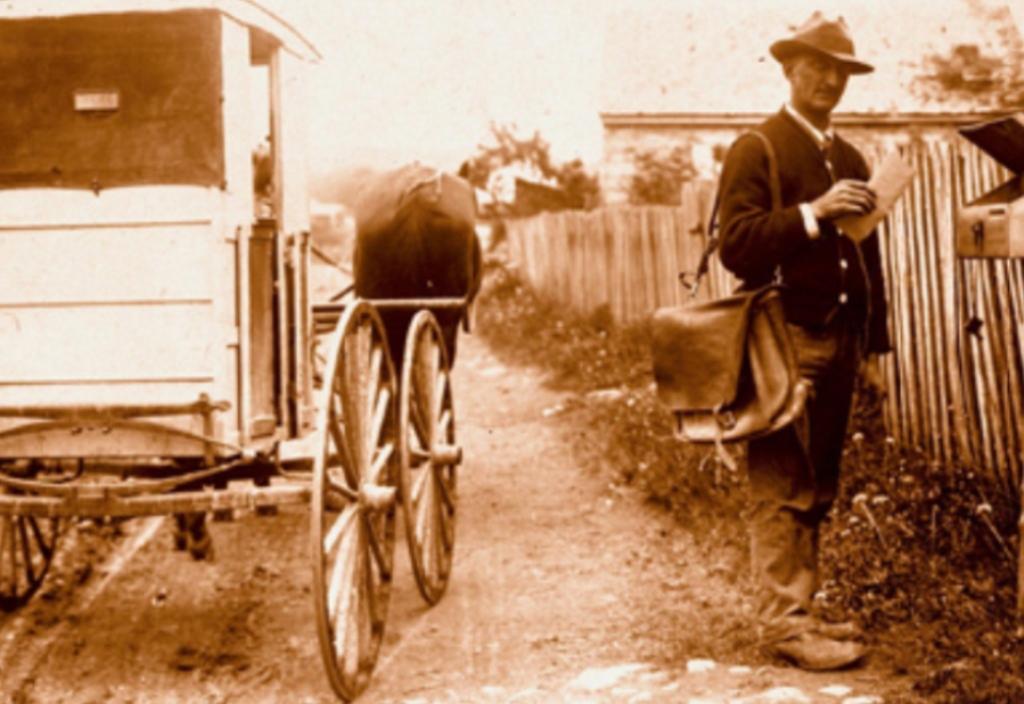 В 1913 году законы США не запрещали отправлять детей к бабушке по почте