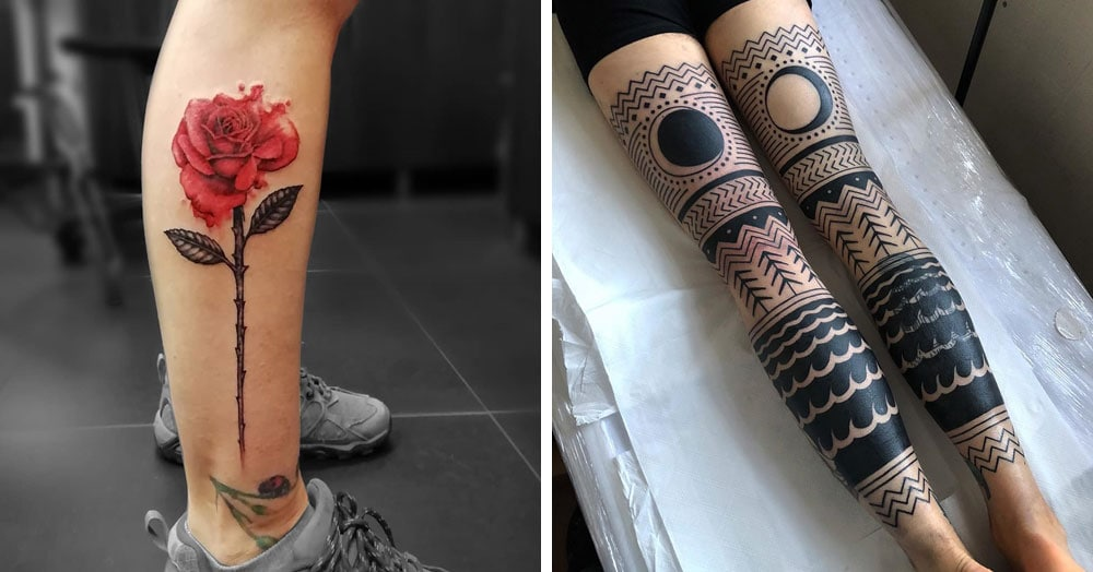 20 ярких доказательств того, что ноги – это прекрасное место для татуировки