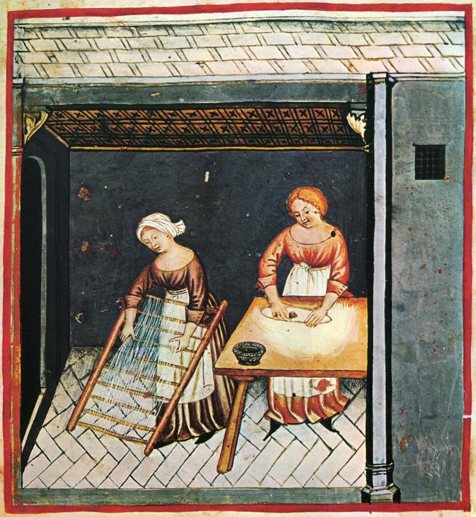Без благ цивилизации. Как справлялись с домашними делами женщины Средневековья