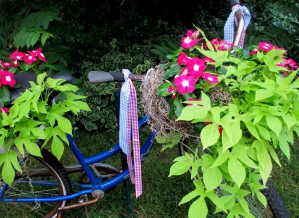 Фантастические идеи. Как ненужные вещи могут стать украшением сада