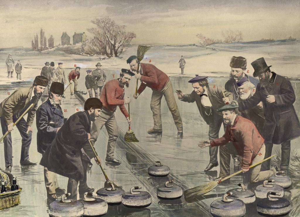 Щеткой по льду: керлинг был известен в России более века назад, но его признали буржуйским развлечением и запретили