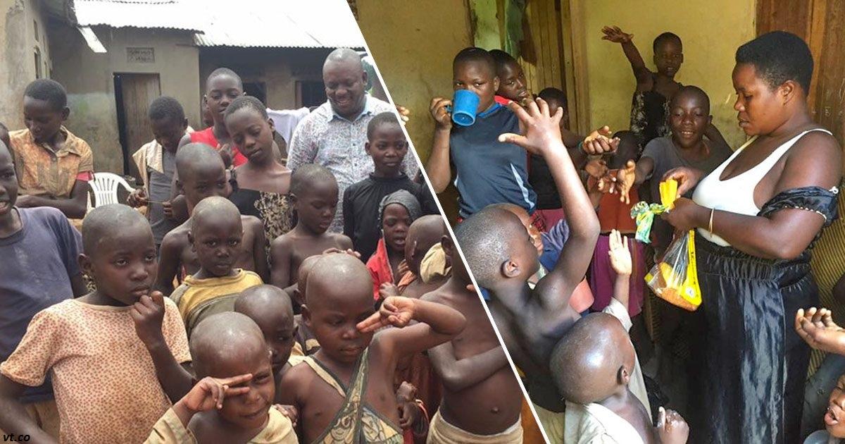 К 36 годам эта женщина завела 38 детей   и воспитывает их одна!