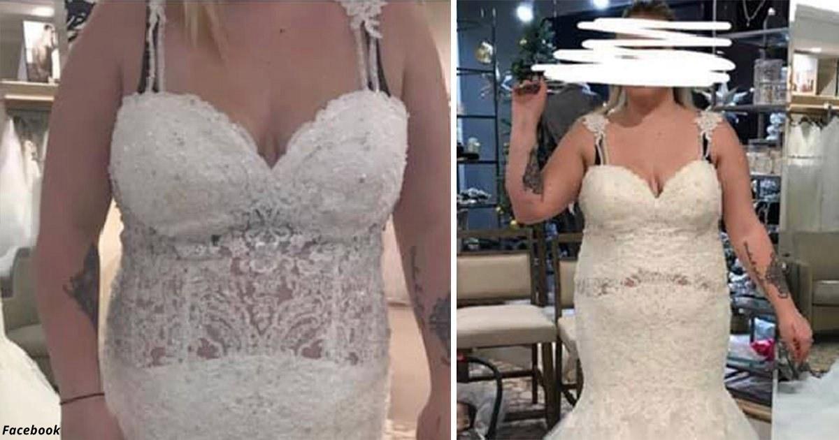 Невесте порекомендовали сжечь её свадебное платье. Вот почему
