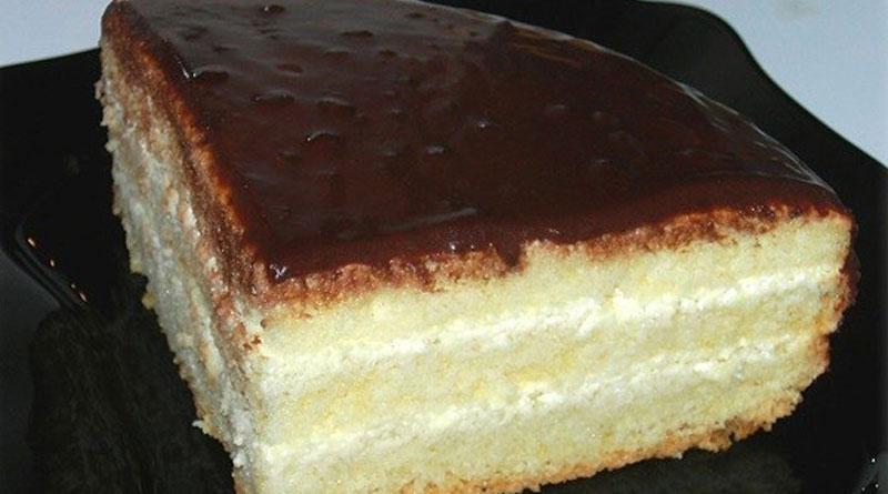 Бисквитный торт «Чародейка». Изумительный вкус, знакомый с детства