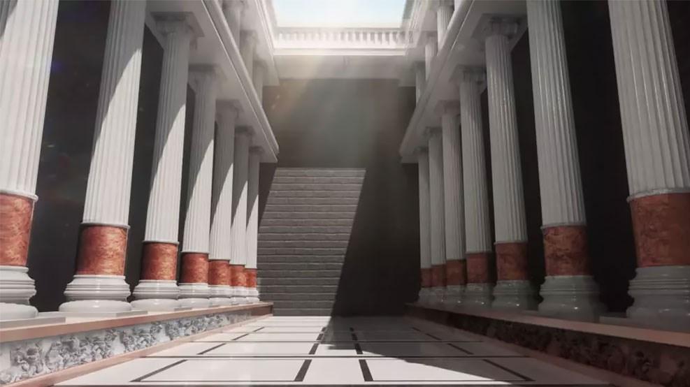 Вот как выглядели бы 7 чудес света, если бы они сохранились