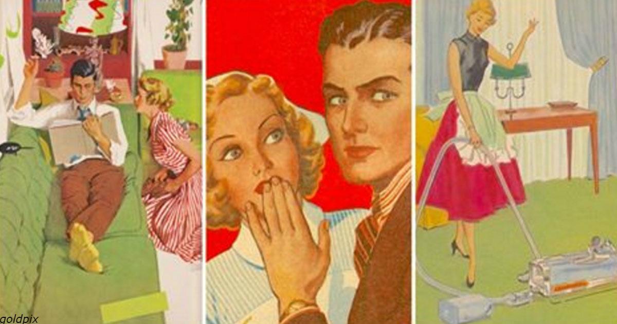 5 откровенных советов из 1950 х о том, как удержать своего мужчину