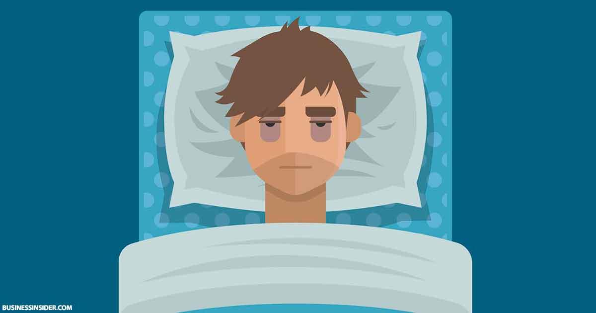 Вот что происходит с вашим телом, если вы не поспали всего одну ночь