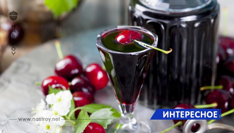 Готовим изумительный вишневый ликер из 3 ингредиентов. В сезон, грех не воспользоваться!