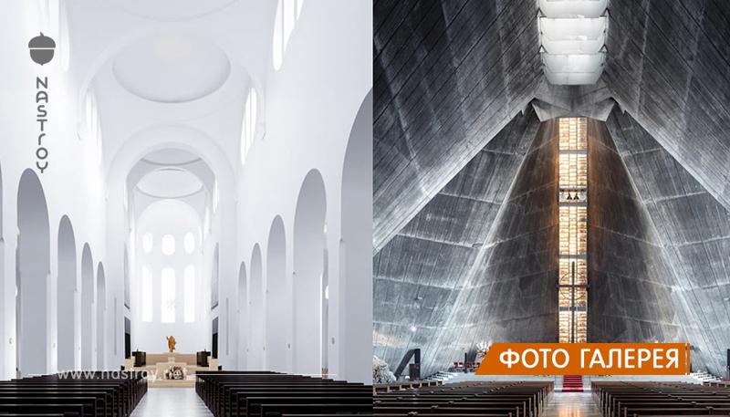 Парижский фотограф путешествует по миру, запечатлевая великолепные интерьеры модернистских церквей