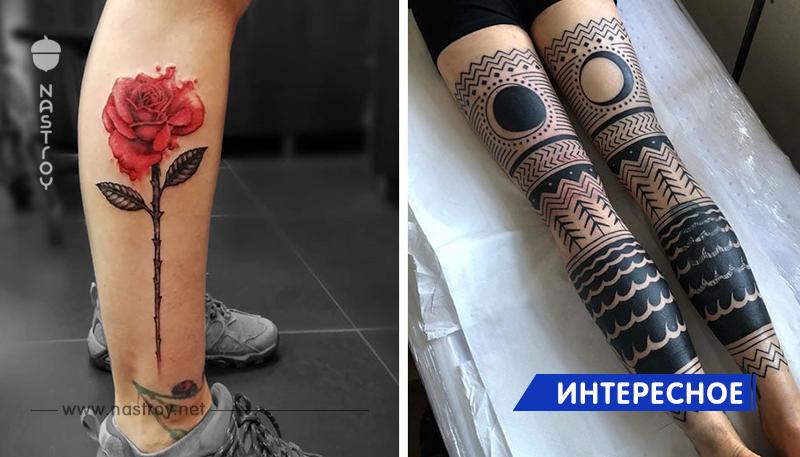 15 ярких доказательств того, что ноги – это прекрасное место для татуировки