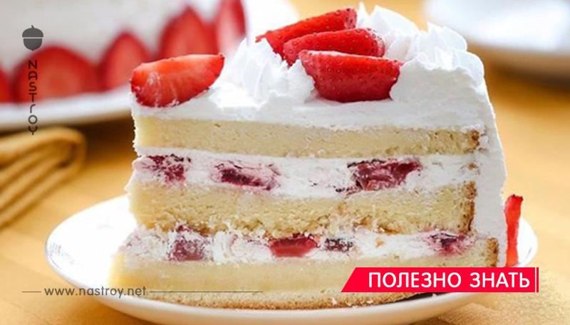 Торт «Сама Нежность». Воздушный бисквит с тающим во рту кремом