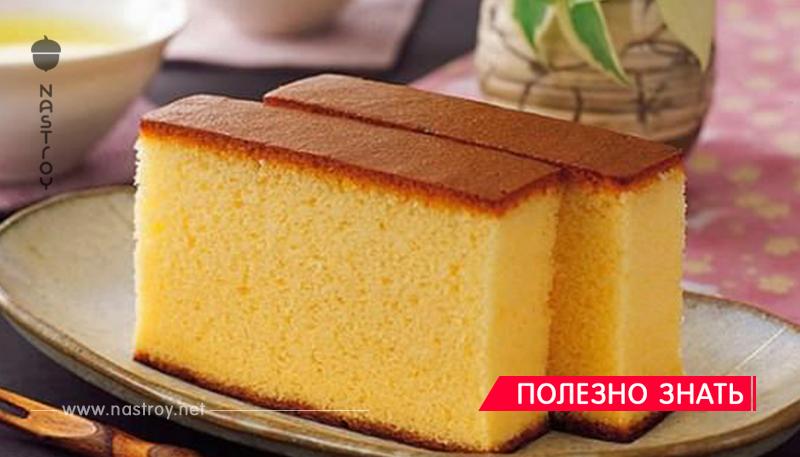 Пышный бисквит на кефире — справится даже новичок в кулинарии!