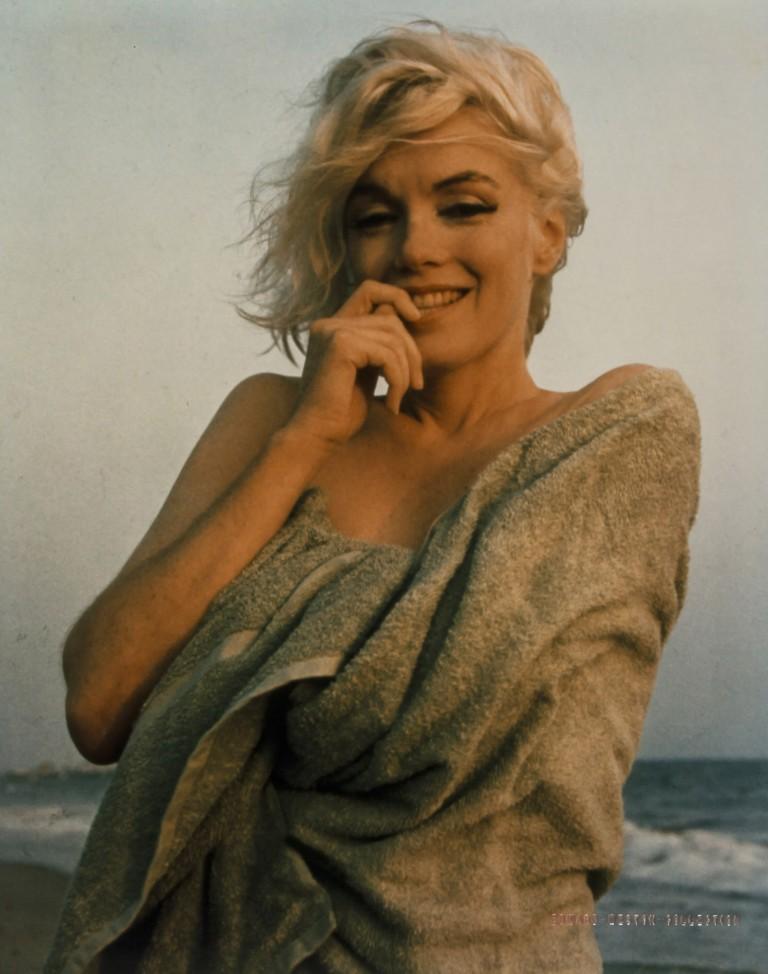 Последняя фотосессия Мэрилин Монро на пляже: через 3 недели ее не стало