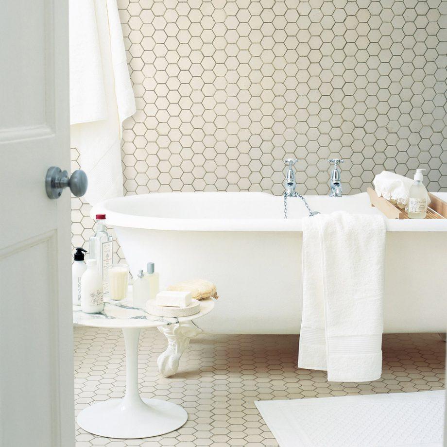 Пол   это все: лайфхаки от дизайнеров по расширению пространства в ванной комнате (фотоподборка)