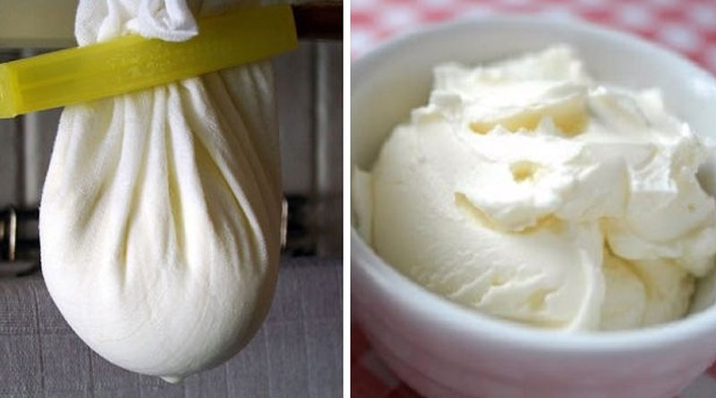Домашний сыр маскарпоне из сметаны