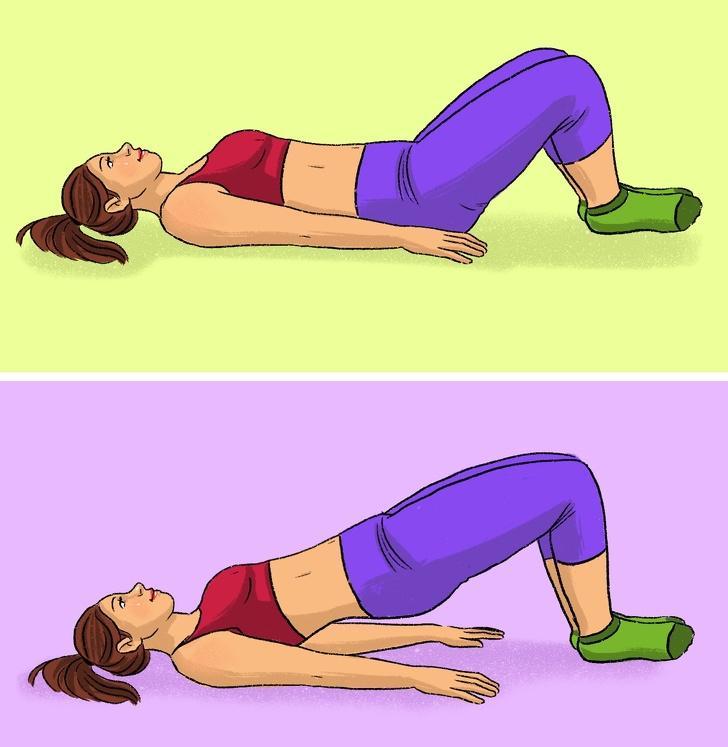 Домашние тренировки: 9 эффективных и простых упражнений для мышц ног и ягодиц