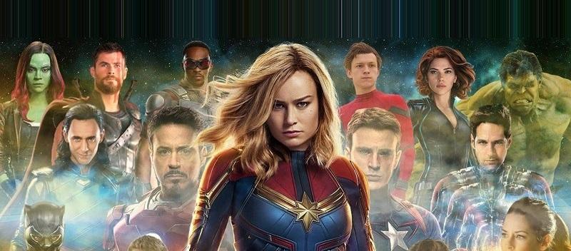 Бри Ларсон (Капитан Марвел) - герой не только в фильме, но и в реальности