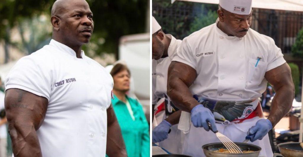 Шеф-повар в Белом доме: глядя на его бицепсы, критиковать блюда не хочется