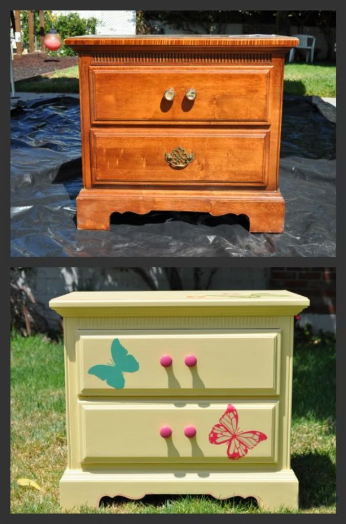 Зачем выбрасывать старую мебель, если можно ее переделать: 10 идей для вдохновения