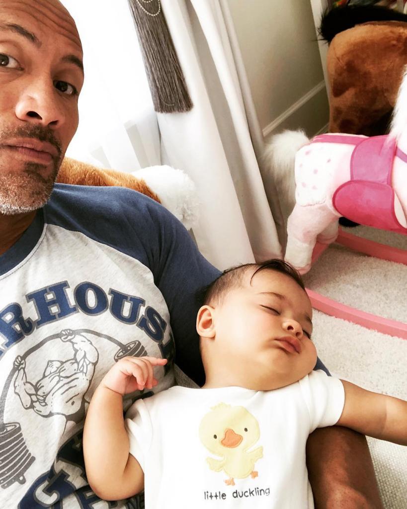 Дуэйн Скала Джонсон не только грозный силач: он самый лучший папа для его трех дочерей