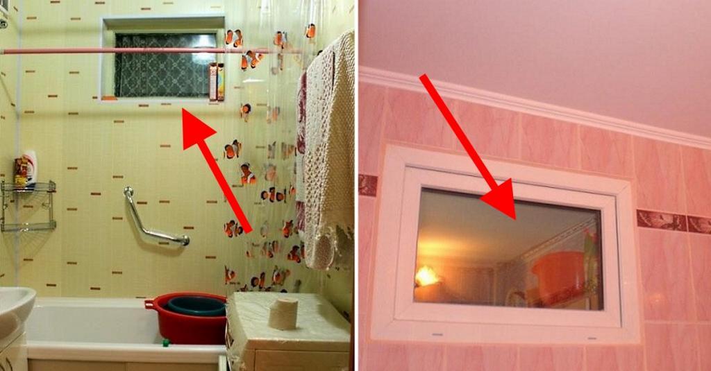 Интересно о повседневном: почему в старых квартирах делали окошки между кухней и санузлом