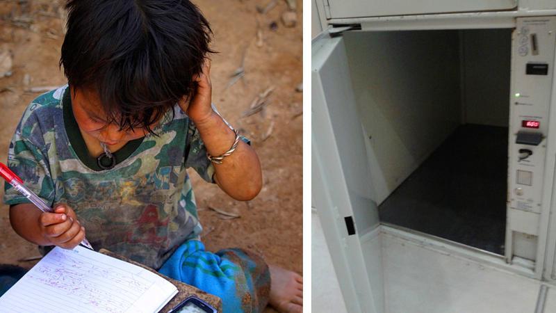 8-летний мальчик бродяжничал и целый год спал в камере хранения в аэропорту. Сейчас ему 33, и его жизнь кардинально изменилась
