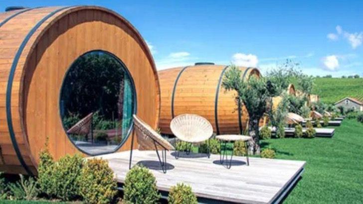 Хотите почувствовать себя Диогеном? В Португалии можно переночевать в бочке и попробовать лучшие винные сорта всего за 190$