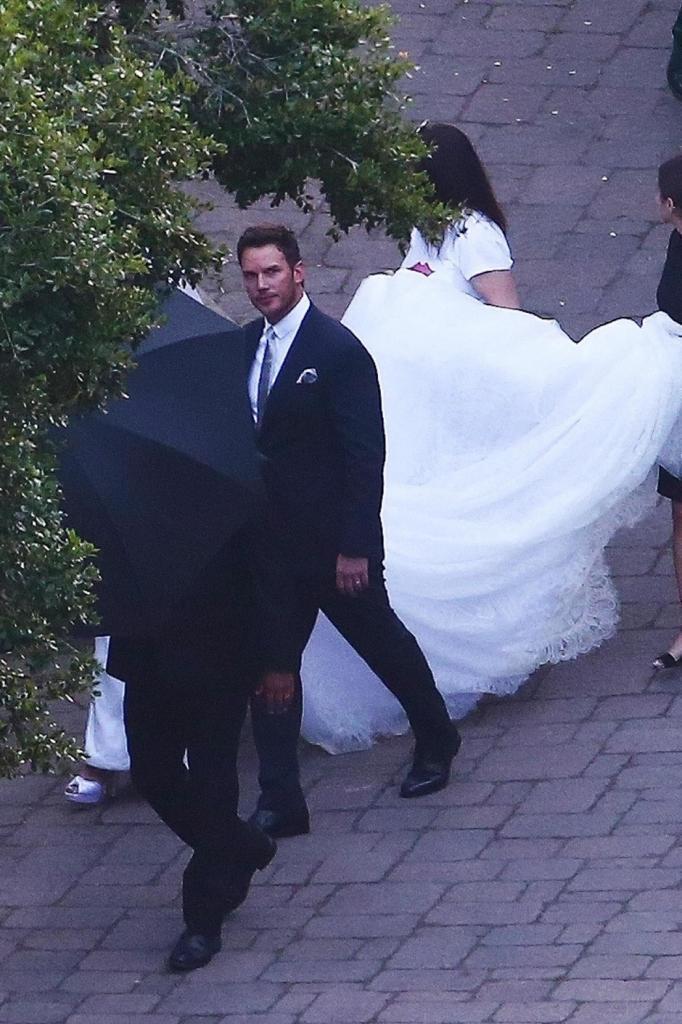 Крис Пратт и Кэтрин Шварценеггер делятся первой свадебной фотографией