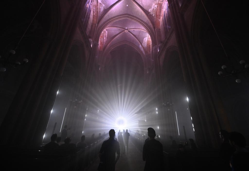 «Созвездия» - ежегодный фестиваль цифровых искусств, который поражает своими масштабами