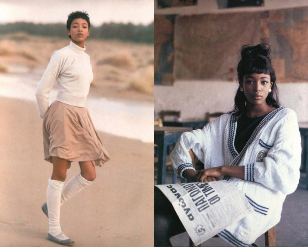 Наоми Кэмпбелл: как выглядела первая черная модель в юности