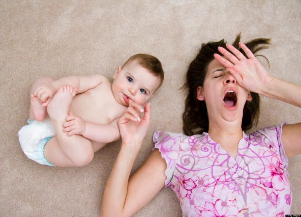 Мать с детьми картинки смешные