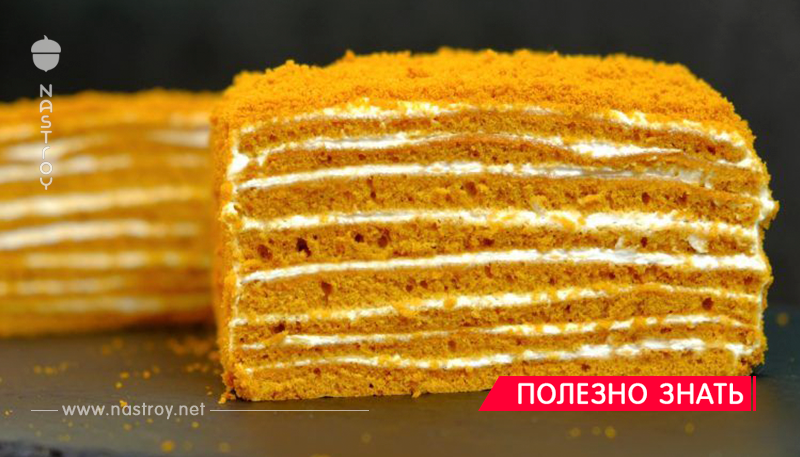 Торт «Медовик» за 30 минут без раскатки коржей