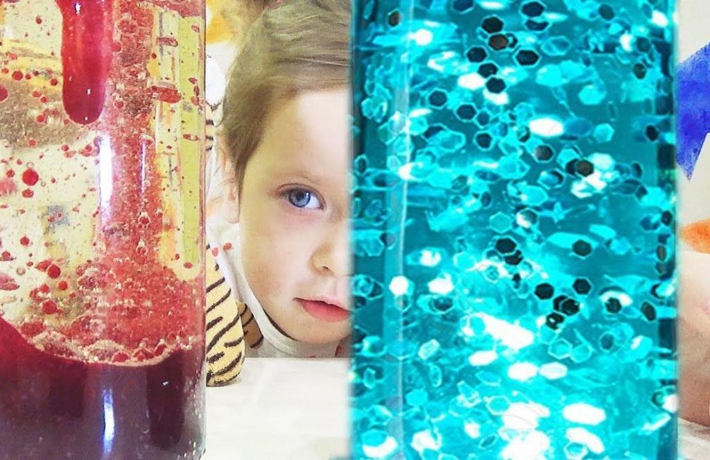 Лава лампу можно сделать дома: детям понравится и процесс и результат