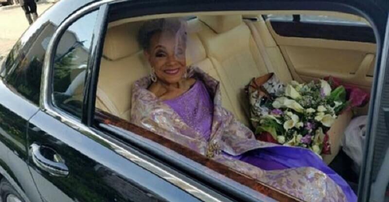 86 летняя невеста покорила интернет свадебным платьем