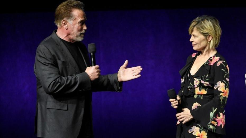 Линда Гамильтон вспоминает свои 35-летние отношения со Шварценеггером
