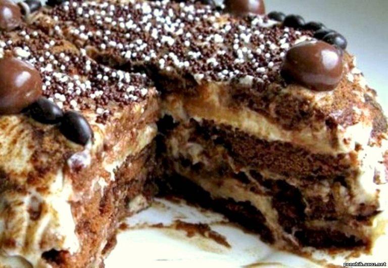 Вы ни за что не поймете из чего сделан это торт, но вкус у него ВОСХИТИТЕЛЬНЫй