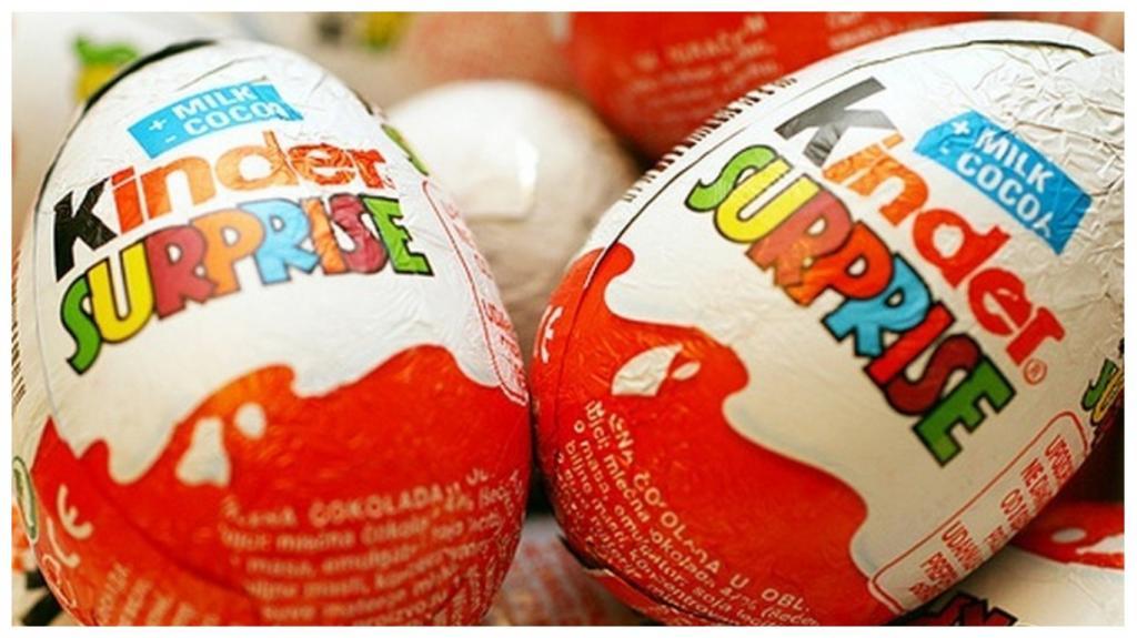 Никто не обращает внимание на маленький значок на яйцах Киндер-сюрприза. А он может поведать о том, какая игрушка находится внутри