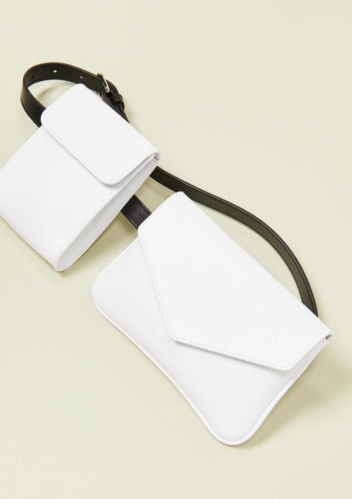 Эволюция поясных сумок: последние новости с модных показов