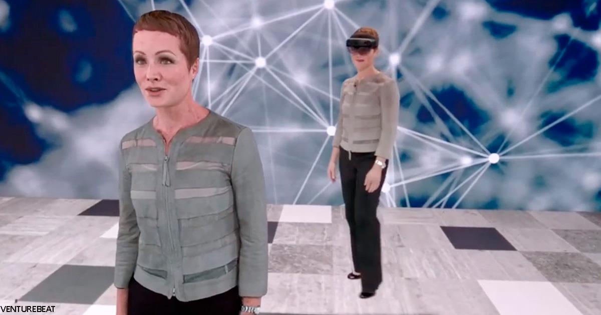 Теперь ваша голограмма может говорить вашим голосом и на другом языке