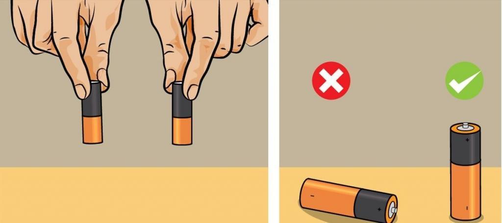 Как определить, заряжена ли батарейка: эти и другие полезные хитрости на каждый день