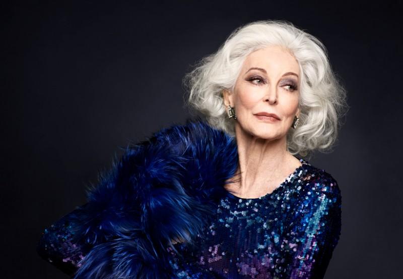 Разрушительница стереотипов — ей 87 лет и она по прежнему модель и не собирается на пенсию!