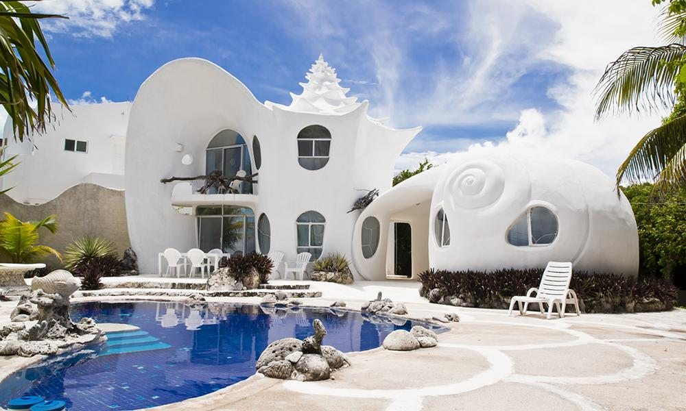 может быть самые необыкновенные дома мира фото колода словно